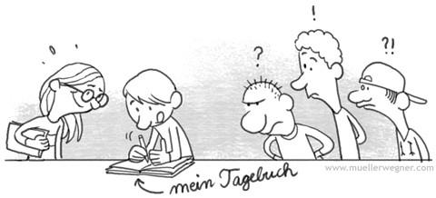 Comic-Tagebuch